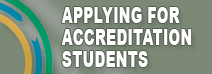 Applying for accreditation students